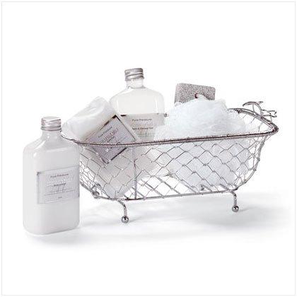 34186 Gift Set In Decorative Bath Tub