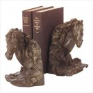 "27321 ""Liberty Bronze"" Horse's Head Bookends"