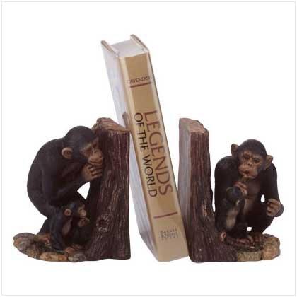 35190 Hide 'n Seek Monkey Bookends