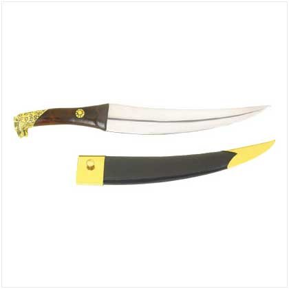 38095 Dagger with Leather Sheath