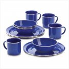 38384 12 PC Camping Set-Blue