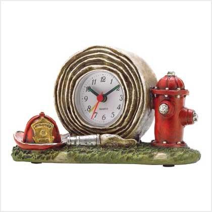 38200 Fire Department Clock