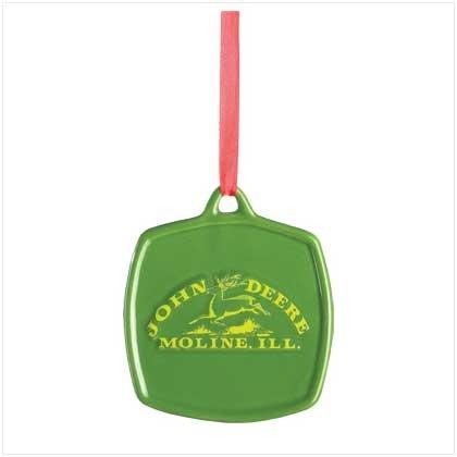 38311 John Deere Vintage Logo Ornament
