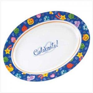 37793 Celebrate! Oval Serving Platter