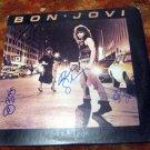 BON JOVI   autographed  SIGNED   1st  RECORD        *proof