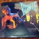 "DAVID BOWIE     autographed     SIGNED     "" Lets Dance ""     RECORD   !"