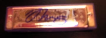 NEIL YOUNG  autographed  SIGNED new  HARMONICA   *  proof