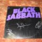 BLACK SABBATH  autographed  SIGNED   #1  RECORD        *proof