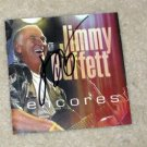 JIMMY BUFFETT  autographed  SIGNED  New  CD Cover   !