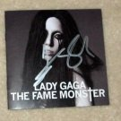 "LADY GAGA    autographed   SIGNED   ""Monster""  Cd  Cover       *PROOF"