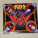 KISS gene simmons  AUTOGRAPHED  signed  Cd Cover  !