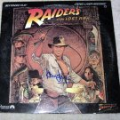 HARRISON FORD   autographed     INDIANA JONES    laser disc    COVER      *proof