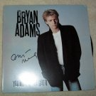 BRYAN ADAMS   autographed  SIGNED   #1   Record   !
