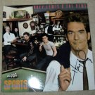 "HUEY LEWIS    autographed      SIGNED     ""sports""    RECORD   !"