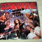 "SCORPIONS   autographed   SIGNED  ""Live""  record   !"