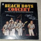 "BEACH BOYS   brian wilson mike love &  al      AUTOGRAPHED    ""Live""   record     *PROOF"