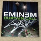 """EMINEM  signed  AUTOGRAPHED  """"Curtain Call""""  Cd Cover  !"""