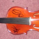 DAVE MATTHEWS BAND  autographed SIGNED  new  VIOLIN   *proof