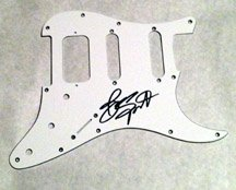 BRUCE SPRINGSTEEN  autographed  SIGNED  new  PICKGUARD