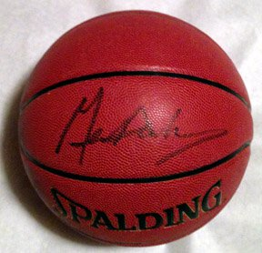 GENE HACKMAN  signed  AUTOGRAPHED  new  BASKETBALL