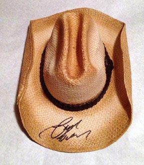 JASON ALDEAN  signed AUTOGRAPHED new  HAT