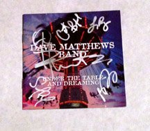 DAVE MATTHEWS BAND w/ leroy  AUTOGRAPHED signed #1 Cd COVER