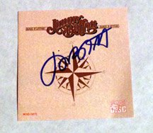JIMMY BUFFETT  signed  AUTOGRAPHED  #1  CD COVER