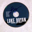 LUKE BRYAN  signed  AUTOGRAPHED  #1  Cd