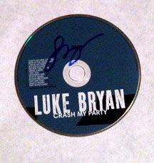 LUKE BRYAN  signed  AUTOGRAPHED  #1  Cd