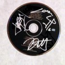 "METALLICA  signed  AUTOGRAPHED "" Black ""  Cd"
