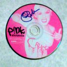 PINK  signed  AUTOGRAPHED  #1  Cd