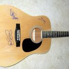 BON JOVI  signed  AUTOGRAPHED  new  Acoustic GUITAR