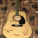 DAVE MATTHEWS BAND  signed  AUTOGRAPHED  new  GUITAR