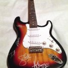 GUNS N ROSES  signed  AUTOGRAPHED new  GUITAR  * proof