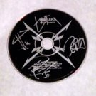 METALLICA  signed  AUTOGRAPHED  #1  Cd