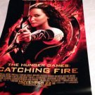 HUNGER GAMES  autographed SIGNED full size POSTER by JENNIFER LAWRENCE