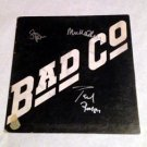 BAD COMPANY  signed  AUTOGRAPHE  #1  RECORD album