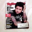 GREEN DAY  billie joe armstrong  AUTOGRAPHED  signed  MAGAZINE
