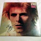 DAVID BOWIE  signed  AUTOGRAPHED  #1  Record ALBUM   * proof