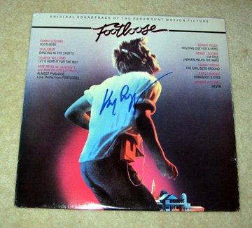 KENNY LOGGINS  footlose     Autographed   SIGNED  #1   RECORD     album     * Proof