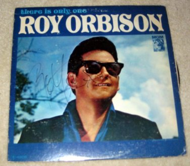 ROY ORBISON   autographed   SIGNED  # 1   RECORD     album     * Proof