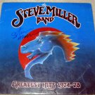 STEVE MILLER BAND  autographed   SIGNED  # 1   RECORD     album     * Proof