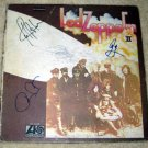 LED ZEPPELIN   with/ john    autographed   SIGNED  # 1   RECORD     album     * Proof
