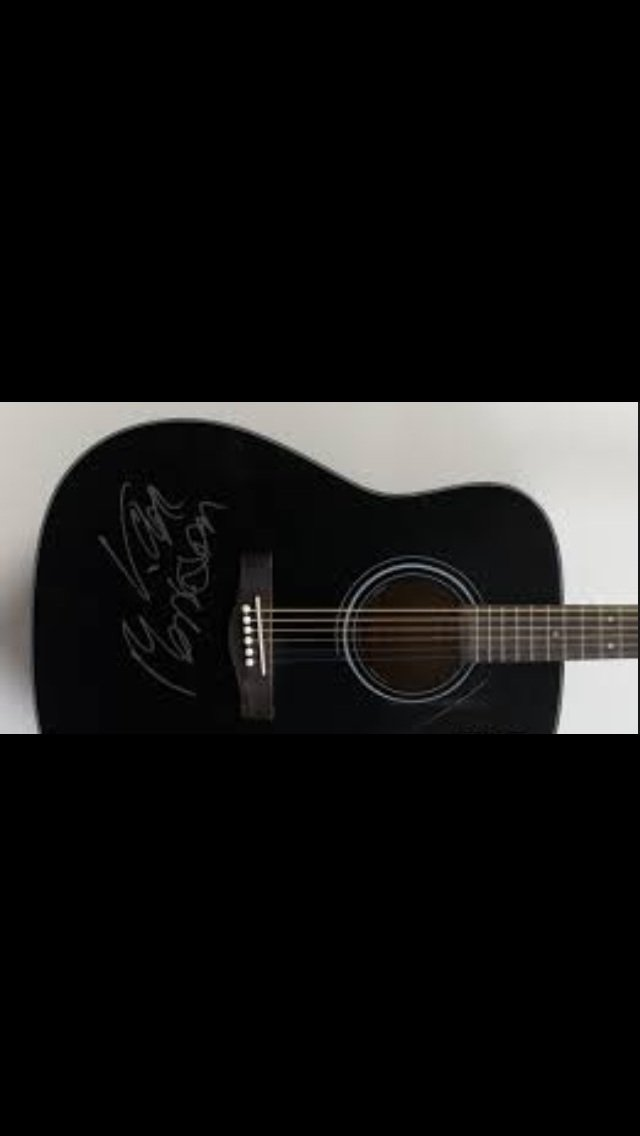VAN MORRISON  autographed  SIGNED  new  GUITAR