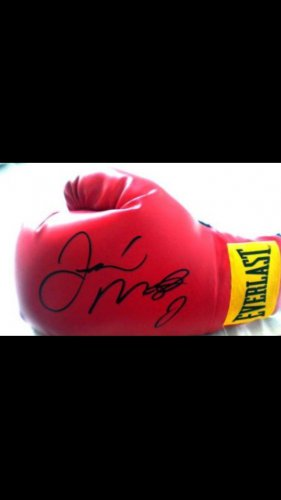 FLOYD MAYWEATHER JR  signed  AUTOGRAPHED  full size  BOXING Glove