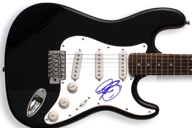 JOSH GROBAN   autographed SIGNED new  GUITAR