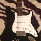 MIKE NESS  social distortion  SIGNED  autographed  GUITAR