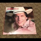 GEORGE STRAIT autographed SIGNED #1 record