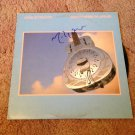 MARK  KNOPFLER  dire straits  AUTOGRAPHED signed #1 RECORD