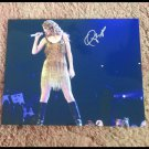 TAYLOR SWIFT   signed AUTOGRAPHED  Concert  8x10  photo